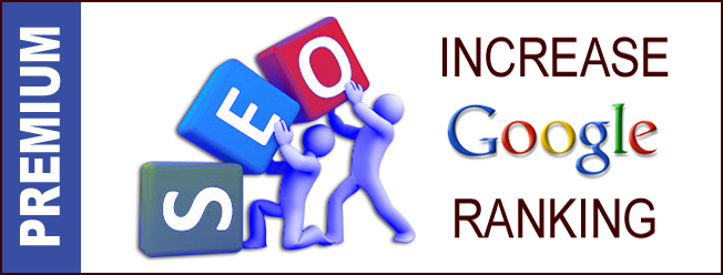 Premium SEO Package - Improve Google Ranking